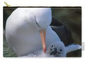 Black-browed Albatross With Chick Carry-all Pouch