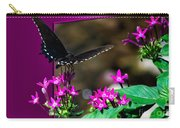 Black Butterfly 06 Carry-all Pouch
