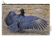 Black Buzzard Back Carry-all Pouch