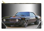Black Camero Carry-all Pouch