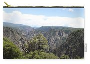 Black Canyon Of The Gunnison Panorama Carry-all Pouch