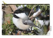 Black-capped Chickadee 9527 Carry-all Pouch