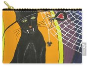 Black Cat In A Hat  Carry-all Pouch