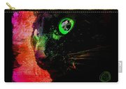 Black Cat Neon Carry-all Pouch