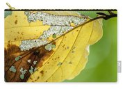 Black Cherry Leaf Carry-all Pouch