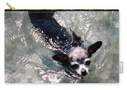 Black Chihuahua Dog Its You That Makes The Mountains And Rivers More Beautiful. Carry-all Pouch