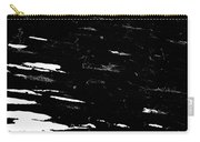 Black Cinders In Winter Carry-all Pouch
