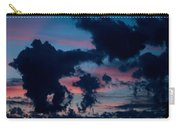 Black Clouds Against Sunset Carry-all Pouch