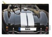 Black Cn Cobra Classic Car Carry-all Pouch