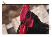 Black Cochin Rooster Carry-all Pouch