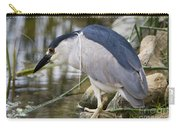 Black-crown Heron Going Fishing Carry-all Pouch