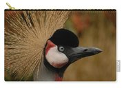 Black Crowned Crane Carry-all Pouch