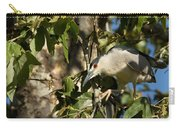 Black-crowned Heron Looking For Nesting Material Carry-all Pouch
