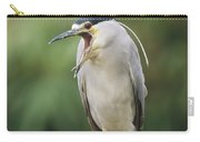 Black-crowned Night Heron Calling Carry-all Pouch