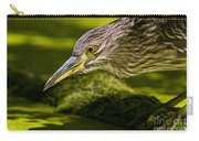 Black Crowned Night Heron Pictures 115 Carry-all Pouch