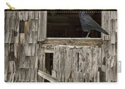 Black Crows At The Old Barn Carry-all Pouch