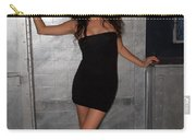 Black Dress Woman Carry-all Pouch