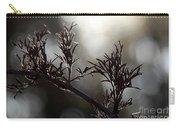 Black Edlerberry Bush Carry-all Pouch