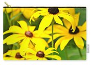 Black Eyed Susan 1 Carry-all Pouch by Marty Koch