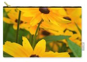 Black Eyed Susan - Flower Carry-all Pouch