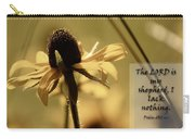 Black-eyed Susan  Psalm Carry-all Pouch