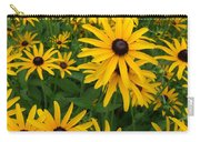Black Eyed Susan's Carry-all Pouch