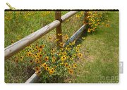 Black Eyed Susans In A Wildflower Meadow Carry-all Pouch