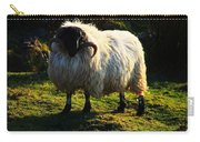 Black Faced Mountain Sheep Carry-all Pouch