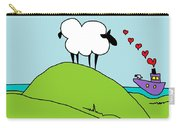 Black Faced Sheep 20150206 Carry-all Pouch