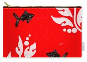 Black Fish Right Carry-all Pouch