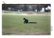 Black Fox Squirrel Carry-all Pouch