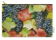 Black Grapes Carry-all Pouch