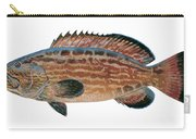 Black Grouper Carry-all Pouch