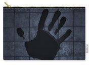 Black Hand Cyan Carry-all Pouch
