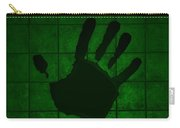 Black Hand Green Carry-all Pouch