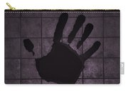 Black Hand Pink Carry-all Pouch