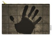 Black Hand Sepia Carry-all Pouch