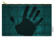 Black Hand Turquoise Carry-all Pouch