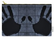 Black Hands Cyan Carry-all Pouch