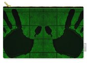 Black Hands Green Carry-all Pouch