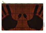 Black Hands Orange Carry-all Pouch