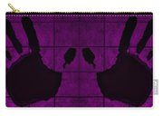 Black Hands Purple Carry-all Pouch