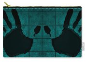 Black Hands Turquoise Carry-all Pouch