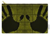 Black Hands Yellow Carry-all Pouch