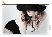Black Hat Carry-all Pouch