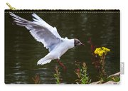 Black Head Gull - Preparing For Landing Carry-all Pouch