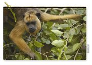 Black Howler Monkey Female Pantanal Carry-all Pouch