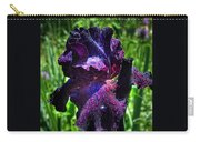 Black Iris After The Rain Carry-all Pouch