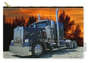 Black Kenworth Carry-all Pouch