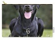 Black Labrador Dog Carry-all Pouch